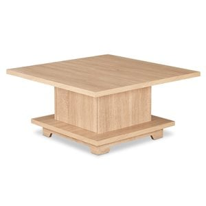 ACME Tally Square Coffee Table in Weathered Oak