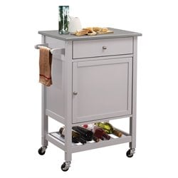 ACME Hoogzen Kitchen Cart in Gray