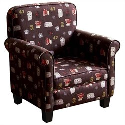 ACME Furniture Roslyn Youth Chair in Brown