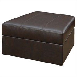ACME Furniture Spokane Storage Ottoman in Brown