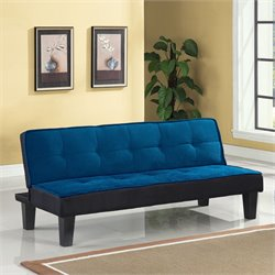 ACME Furniture Hamar Adjustable Sofa in Blue