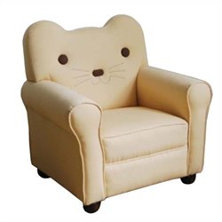 ACME Furniture Kitty Youth Chair in Yellow