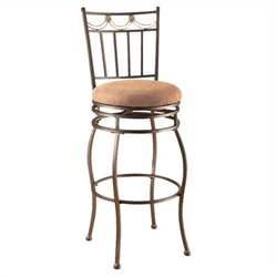 ACME Furniture Tavio 29 Inch Swivel Bar Stool in Bronze (Set of 2)