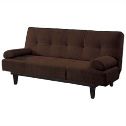 ACME Furniture Cybil Adjustable Sofa in Brown