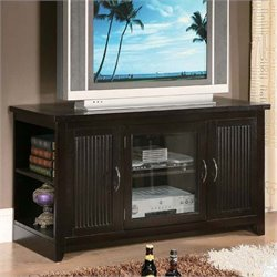 ACME Furniture Redfield Folding TV Stand in Espresso