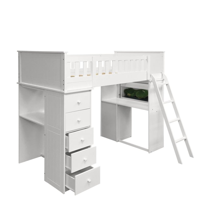 Willoughby Loft Bed White