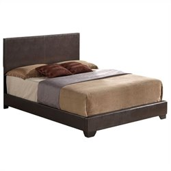 ACME Furniture Ireland Upholstered Bed in Brown