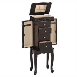 ACME Furniture Tiana Jewelry Armoire in Espresso