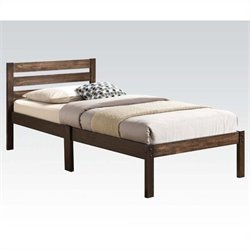 ACME Furniture Donato Twin Platform Bed in Ash Brown