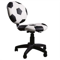 ACME Furniture All Star Youth Office Chair in Black and White
