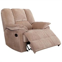 ACME Furniture Oliver Glider Recliner in Mushroom