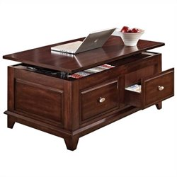 ACME Furniture Mahir Lift Top  Coffee Table in Walnut