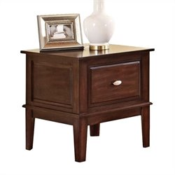 ACME Furniture Mahir End Table in Walnut