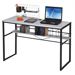 ACME Furniture Ellis Computer Desk in Black and White
