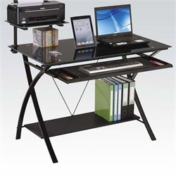 ACME Furniture Erma Computer Desk in Black