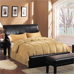ACME Furniture Montego Queen Upholstered Bed in Espresso
