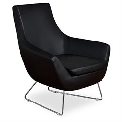 AEON Furniture Parker Accent Chair in Black