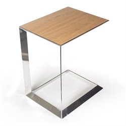 AEON Furniture by Sean Dix Capri End Table in White Oak
