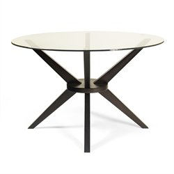 AEON Furniture Beechwood Bianca Dining Table in Coffee