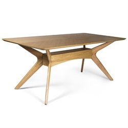 AEON Furniture Simply Scandinavian Clemen Dining Table in Oak