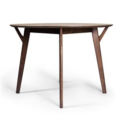 AEON Furniture Simply Scandinavian Dante Dining Table in Walnut