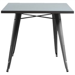 AEON Furniture Garvin-12 Dining Table in Silver