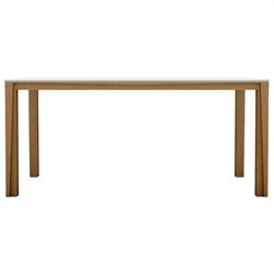 AEON Furniture James Dining Table in White and Ash