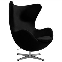 AEON Furniture Columbia Lounge Chair in Black
