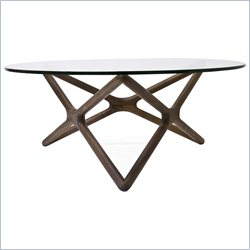AEON Furniture Starlight Coffee Table in Walnut