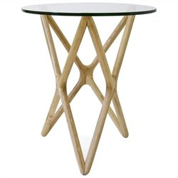 AEON Furniture Starlight Side Table in Natural Ash