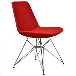 AEON Furniture Paris-3 Dining Chair in Red (Set of 2)