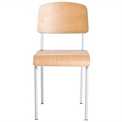 AEON Furniture Sally Side Chair in White Oak (Set of 2)