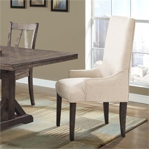 Picket House Furnishings Flynn Parson Dining Arm Chair (Set of 2)
