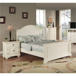 Elements Addison 3 Piece Bedroom Set in White
