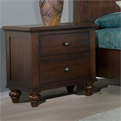 Picket House Furnishings Channing Nightstand in Cherry