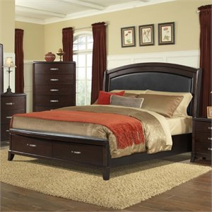 Elements Elaine Bed in Espresso
