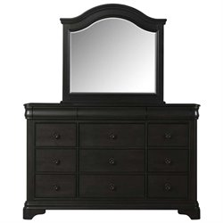 Picket House Furnishings Conley 12 Drawer Dresser in Charcoal
