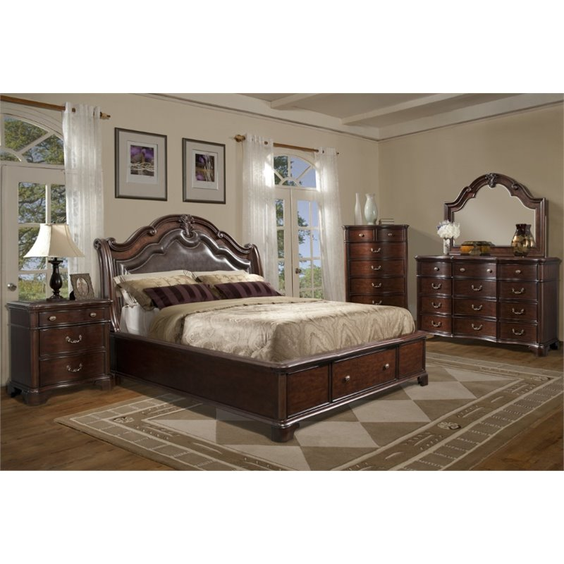 Picket House Furnishings Tomlyn 6 Piece King Storage Bedroom Set