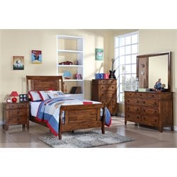 Elements Travis 6 Piece Bedroom Set with Trundle