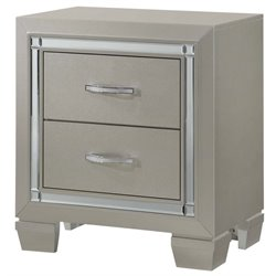 Picket House Furnishings Glamour Youth 2 Drawer Nightstand