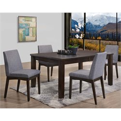 Picket House Furnishings Pyke Dining Set in Espresso