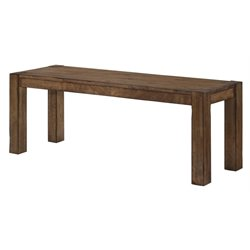 Picket House Furnishings Chase Dining Bench in Walnut