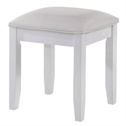 Picket House Furnishings Annie Vanity Stool in White