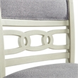 Picket House Furnishings Taylor Counter Height Side Chair Set in Bisque