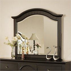 Picket House Furnishings Brook Mirror in Black