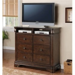 Picket House Furnishings Conley 6 Drawer Media Chest
