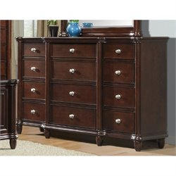 Elements Hamilton Dresser in Warm Brown Cherry