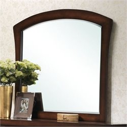 Picket House Furnishings Jenny Arched Mirror in Espresso