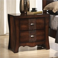 Elements Jenny Nightstand in Espresso