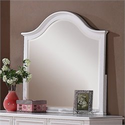Picket House Furnishings Jesse Mirror in White